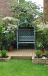 painted_arbour_on_decking